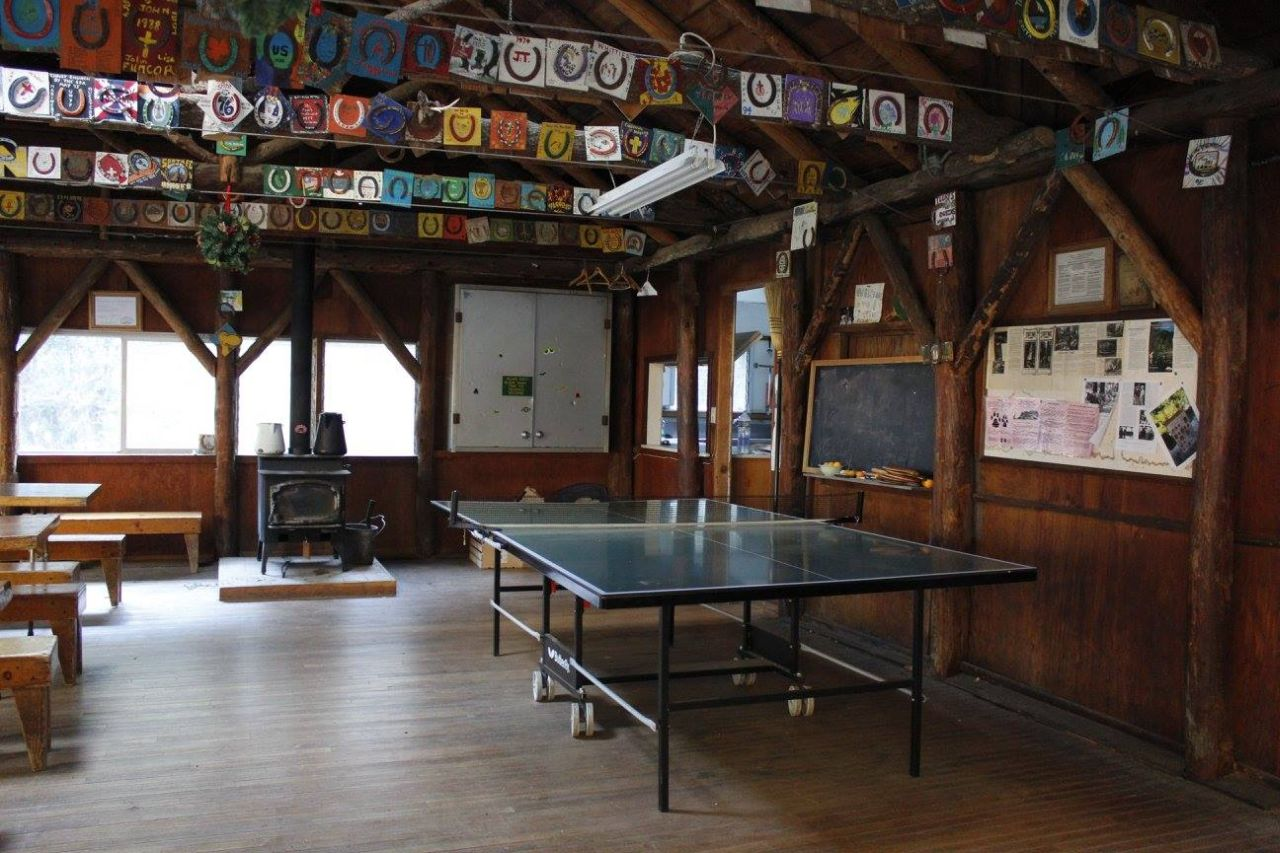 The Ping Pong Table in Sturtevant Lodge