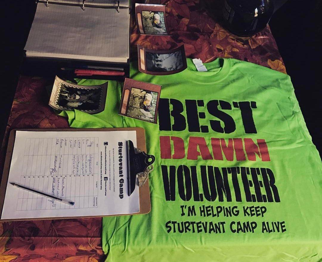 Volunteer to Help at Sturtevant Camp